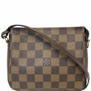 LOUIS VUITTON Truth Damier Ebene Makeup Pouch Bag